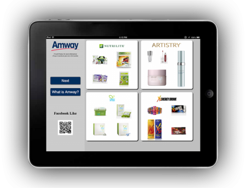 Amway iPad Data Collection